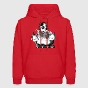 Border Collie and sheep - dog  Hoodies - Men's Hoodie