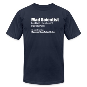 Mad Scientist Monstrosi-Tee - Men's T-Shirt by American Apparel