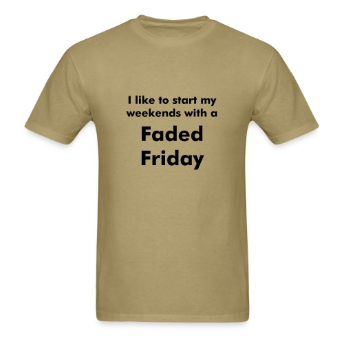 'Faded Friday' T-Shirt - Men's T-Shirt