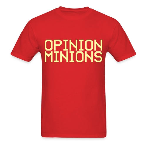 Opinion Minions - Men's T-Shirt