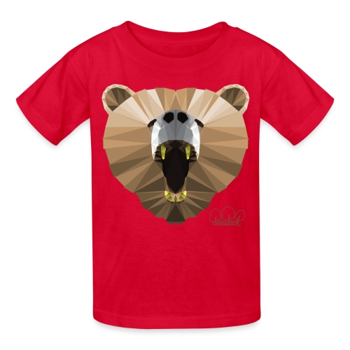 Kid's Hungry Bear Tee - Kids' T-Shirt
