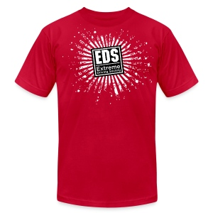 EDS Banzai (Red) - Men's T-Shirt by American Apparel