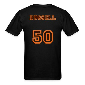 TROPICS RUSSELL T-Shirt - FRONT AND BACK - Men's T-Shirt