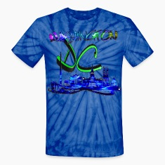 Washington DC Unisex TieDye
