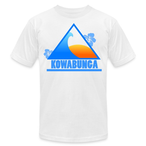 Kowabunga!  - Men's Fine Jersey T-Shirt