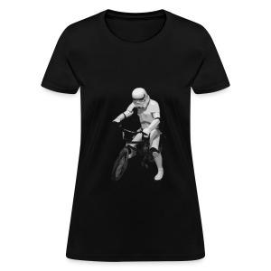StormTrooper en Bici Dama - Women's T-Shirt