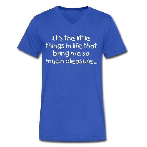 The little things... - Men's V-Neck T-Shirt by Canvas