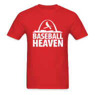 T-Shirts ~ Men's T-Shirt ~ St. Louis is Baseball Heaven - Mens