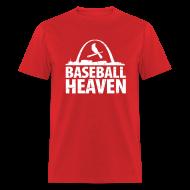 T-Shirts ~ Men's T-Shirt ~ St. Louis is Baseball Heaven - Mens