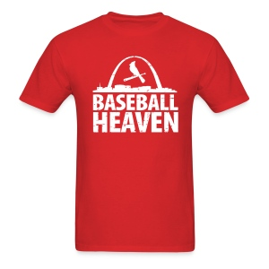 St. Louis is Baseball Heaven - Mens - Men's T-Shirt