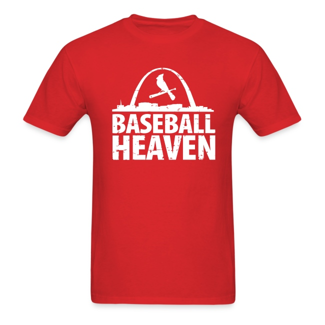 St. Louis is Baseball Heaven - Mens