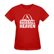 Women's T-Shirts ~ Women's T-Shirt ~ St. Louis is Baseball Heaven