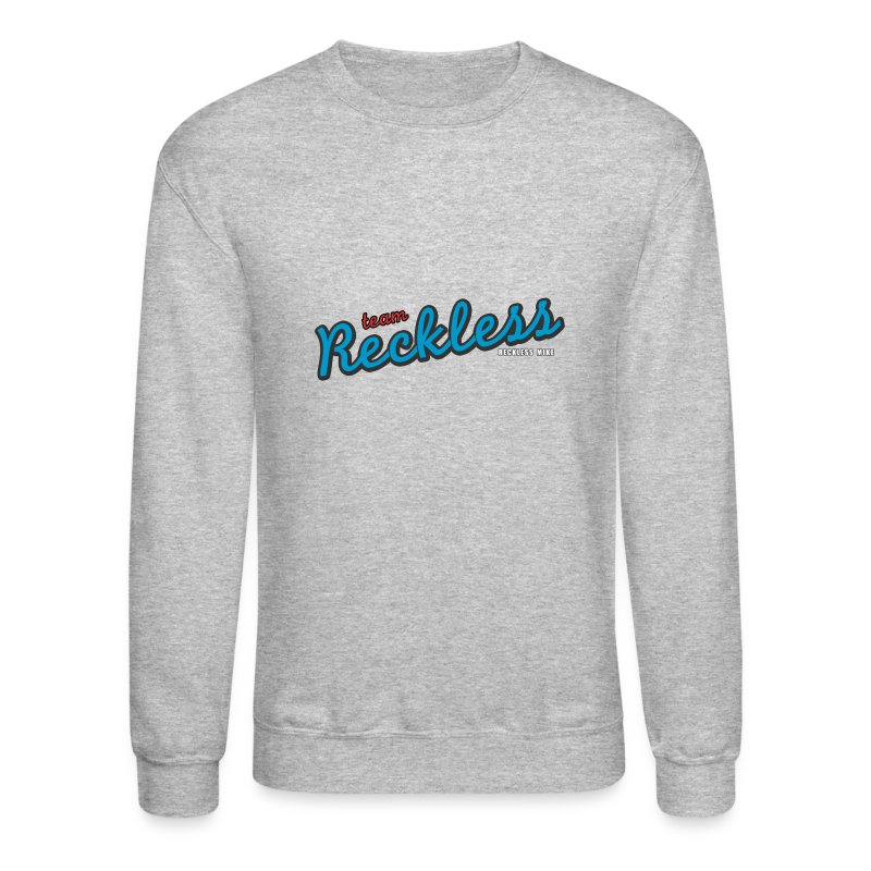teamreckless logo blue2.png - Crewneck Sweatshirt