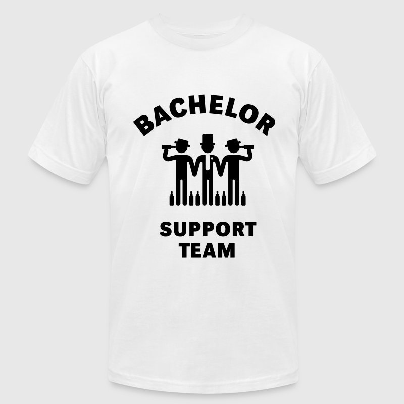 Bachelor Support Team (Stag Party) T-Shirts - Men's T-Shirt by American Apparel