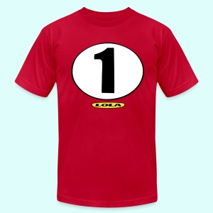 lola racing - Men's T-Shirt by American Apparel
