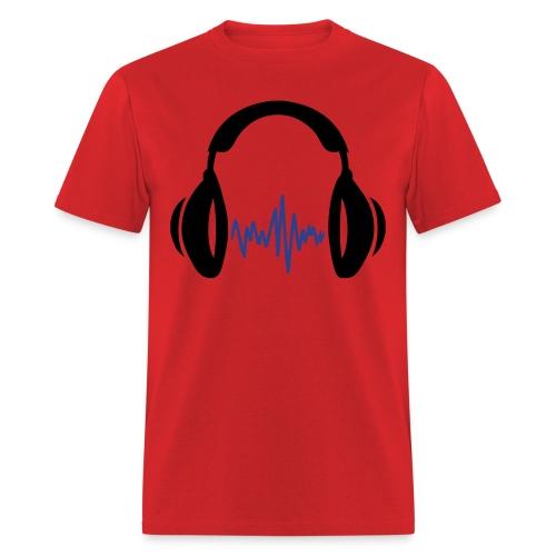 Resistance Radio Headphones - Men's T-Shirt