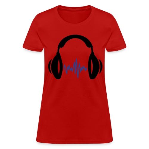 Resistance Radio Headphones Womens - Women's T-Shirt