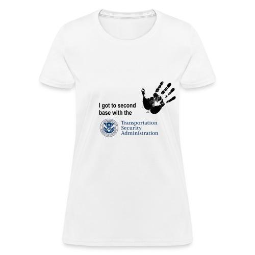 RR 2nd Base TSA womens - Women's T-Shirt
