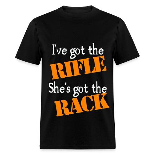 HIS rifle - Men's T-Shirt