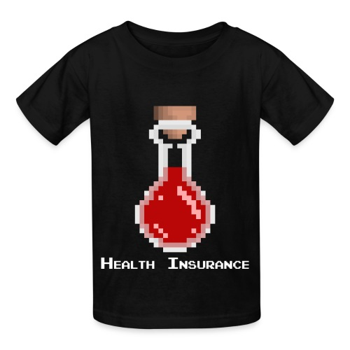 Health Insurance - Kids' T-Shirt