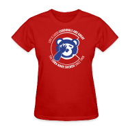 Women's T-Shirts ~ Women's T-Shirt ~ Life is Good Cardinals Are Great, The CUBS suck since 1908 - WOMENS