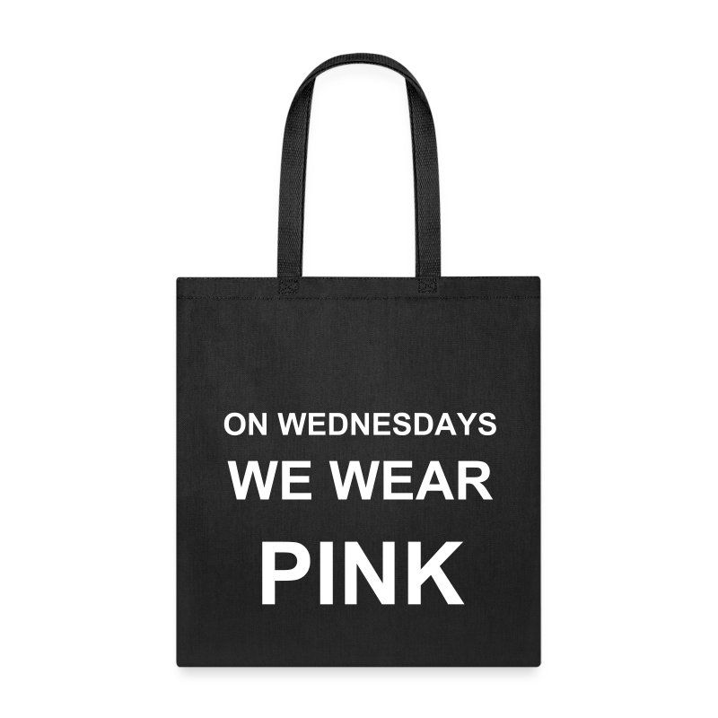 On Wednesdays We Wear Pink Tote - Tote Bag