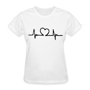 Womens Endless Love White - Women's T-Shirt