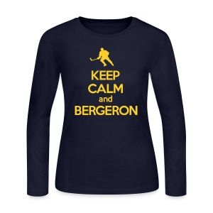 Keep Calm Patrice - Women's Long Sleeve Jersey T-Shirt