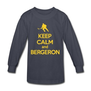 Keep Calm Patrice - Kids' Long Sleeve T-Shirt