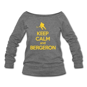 Keep Calm Patrice - Women's Wideneck Sweatshirt