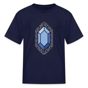 Blue Rupee (Youth) - Kids' T-Shirt
