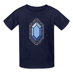 Blue Rupee (Kid's) - Kids' T-Shirt