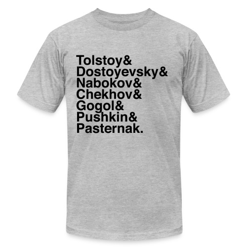 Russian Writers Men's - Men's Jersey T-Shirt