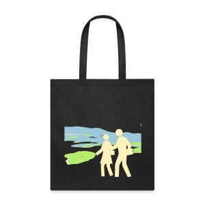Enjoying a walk - Tote Bag