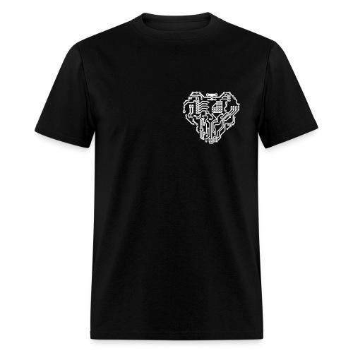 Electric Heart - Men's T-Shirt
