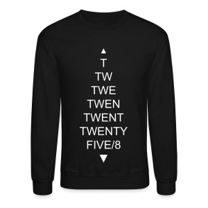 TWENTYFIVE/8 Sweater Black - Crewneck Sweatshirt