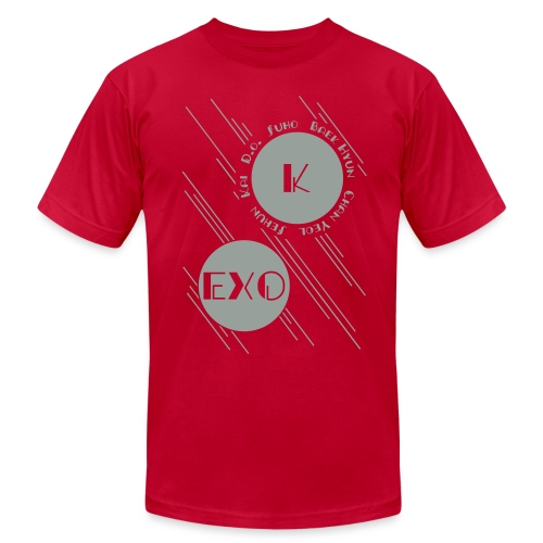 Two Moons-EXO - Men's T-Shirt by American Apparel