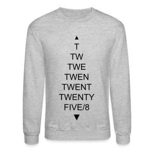 TWENTYFIVE/8 Sweater Grey - Crewneck Sweatshirt
