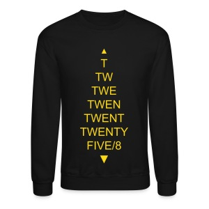 TWENTYFIVE/8 Sweater Black/Gold no metallic - Crewneck Sweatshirt
