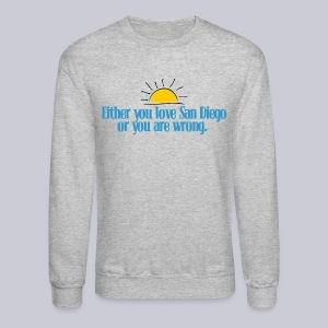 SD or Wrong - Crewneck Sweatshirt