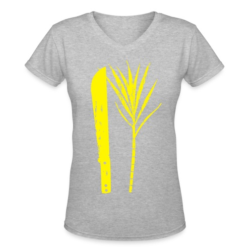 Cut Cane - Women's V-Neck T-Shirt