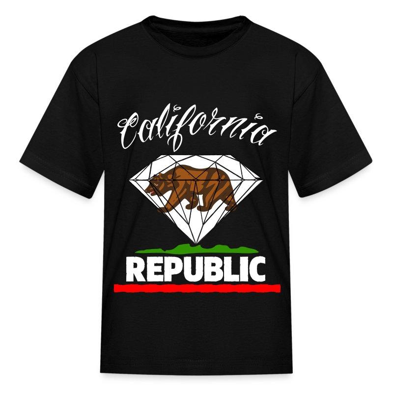 Diamond republic of california t shirt spreadshirt for Diamond and silk t shirts