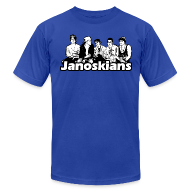 T-Shirts ~ Men's T-Shirt by American Apparel ~ JANOSKIANS BAND LOGO