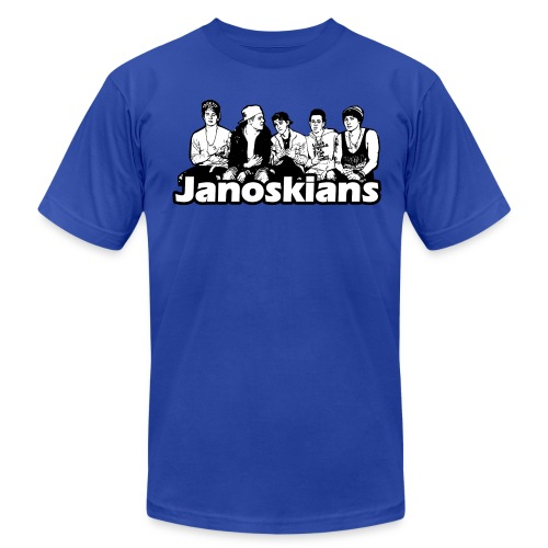 JANOSKIANS BAND LOGO - Men's Fine Jersey T-Shirt