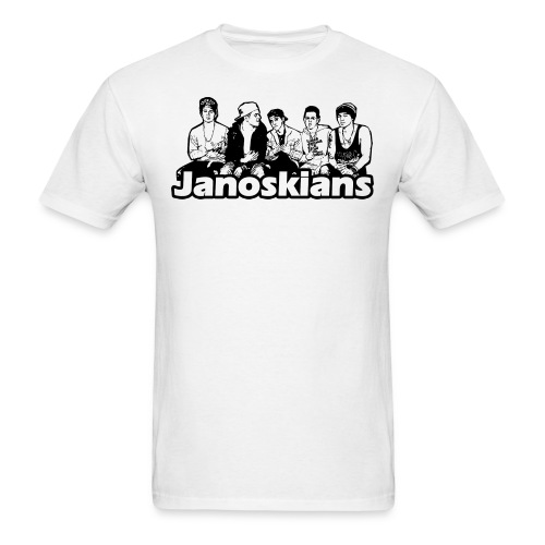 JANOSKIANS BAND LOGO - Men's T-Shirt