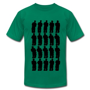 Smoke Smoke - Men's T-Shirt by American Apparel