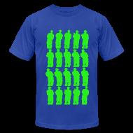 T-Shirts ~ Men's T-Shirt by American Apparel ~ Green Smoke Smoke