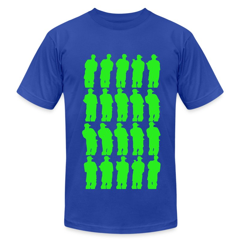 Green Smoke Smoke - Men's T-Shirt by American Apparel