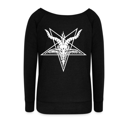 Pentagram Sweater - Women's Wideneck Sweatshirt