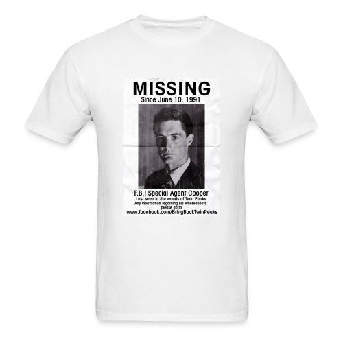 MISSING COOPER T-SHIRT - Men's T-Shirt